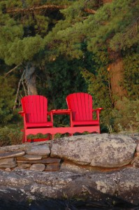 4. Still - Cottage Chair for Two